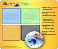 Alfombrillas para rat�n con bloc de notas