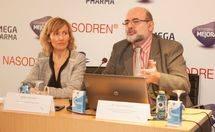 Merc� Piqueras y el Dr. Joaquim Mullol