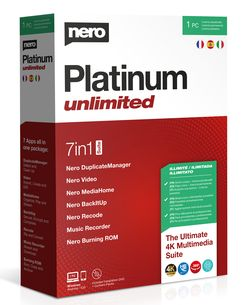 Nero Platinum Unlimited Box Left 3 lang