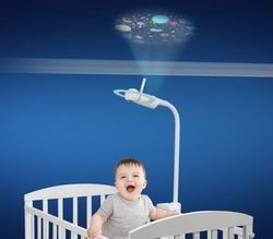 halo MBP944CONNECT Projection NightLight Crib Mount